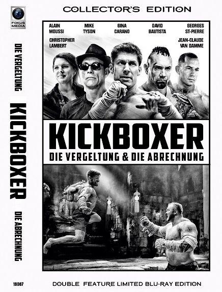 Kickboxer - Die Vergeltung & Die Abrechnung - Große Hartbox - Cover B [Blu-ray]