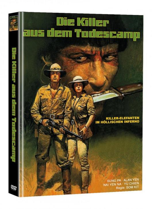 Killer Elephants (Die Killer aus dem Todescamp) - Limited Mediabook Edition (Super Spooky Stories #142) - Cover A [DVD]