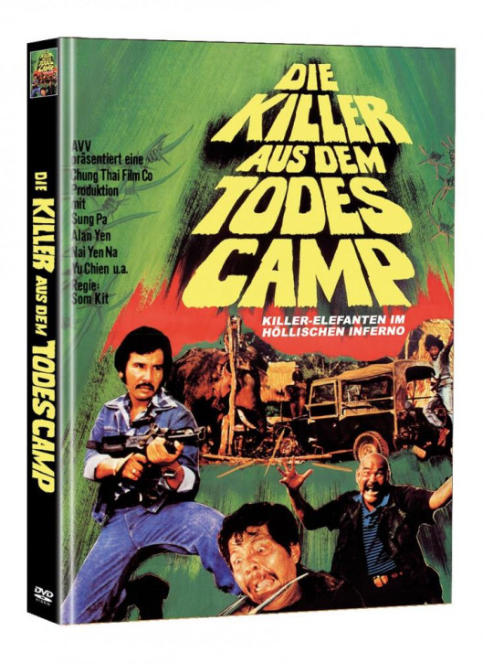 Killer Elephants (Die Killer aus dem Todescamp) - Limited Mediabook Edition (Super Spooky Stories #142) - Cover B [DVD]
