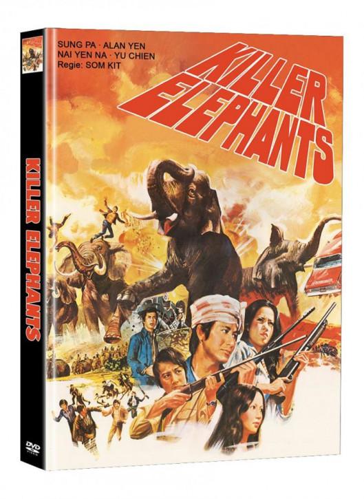 Killer Elephants (Die Killer aus dem Todescamp) - Limited Mediabook Edition (Super Spooky Stories #142) - Cover C [DVD]