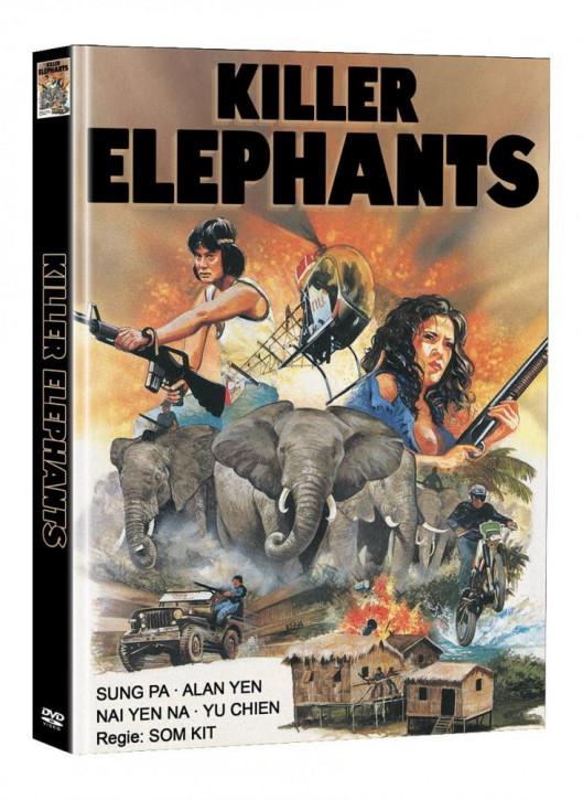 Killer Elephants (Die Killer aus dem Todescamp) - Limited Mediabook Edition (Super Spooky Stories #142) - Cover D [DVD]