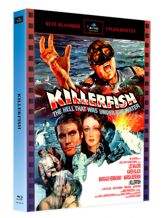 Killerfish (Piranhas 2) - Mediabook - Cover A [Blu-ray]
