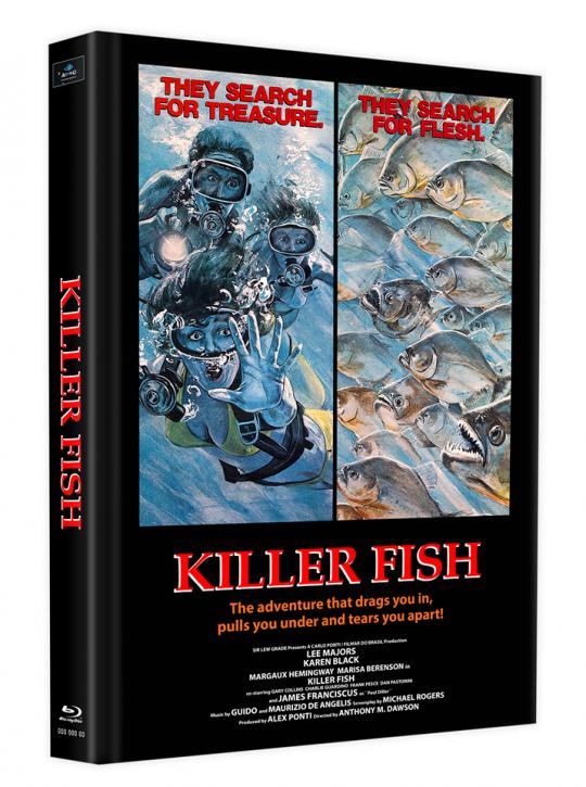 Killerfish (Piranhas 2) - Mediabook - Cover B [Blu-ray]