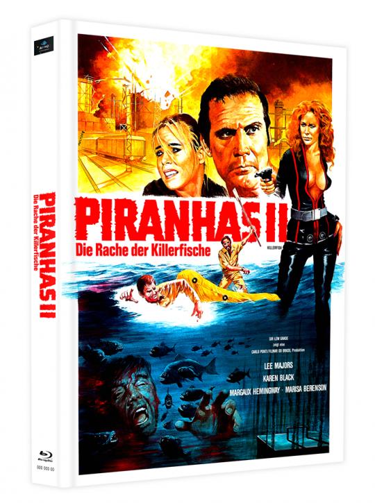 Killerfish (Piranhas 2) - Mediabook - Cover D [Blu-ray]