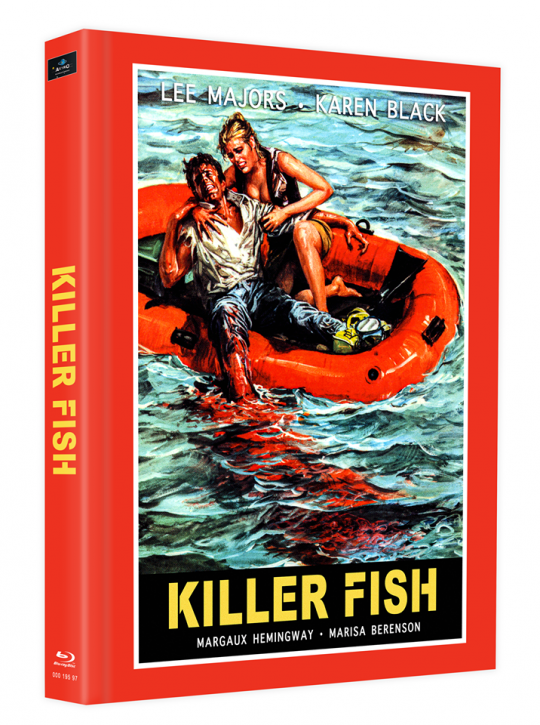 Killerfish (Piranhas 2) - Mediabook - Cover E [Blu-ray]