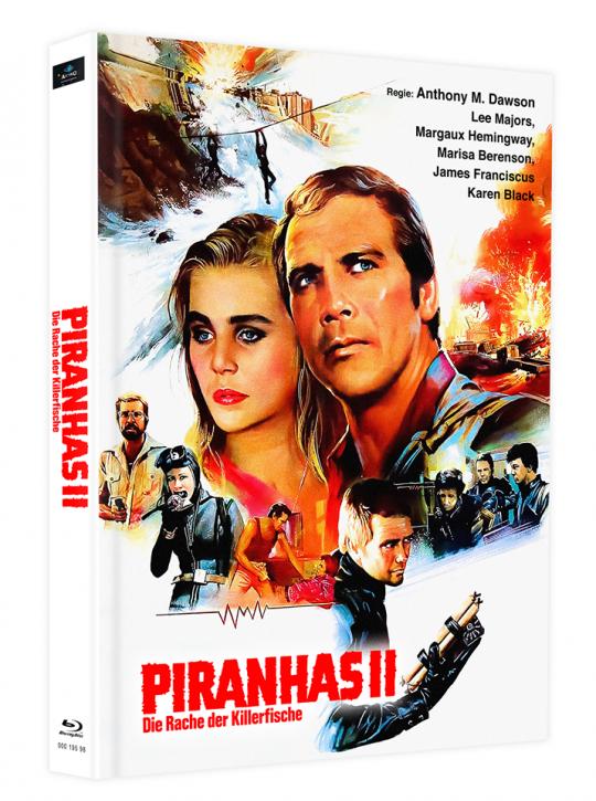 Killerfish (Piranhas 2) - Mediabook - Cover F [Blu-ray]