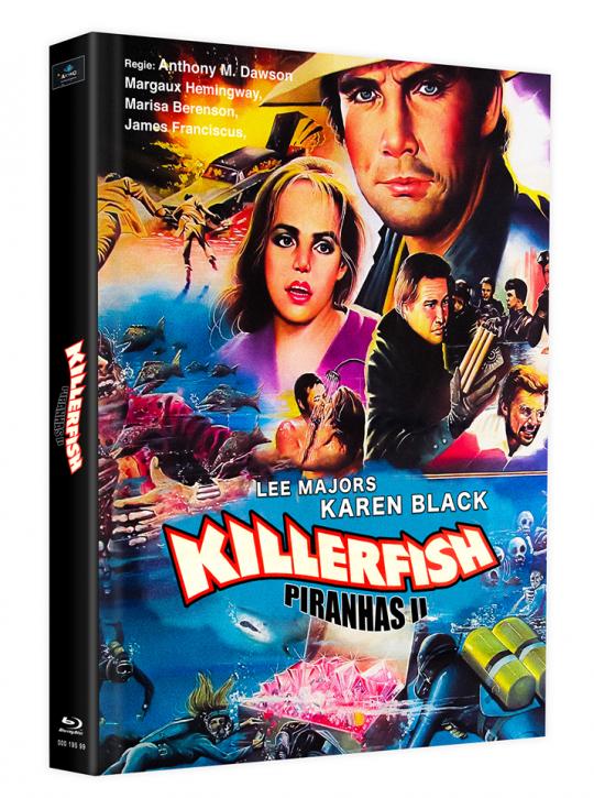 Killerfish (Piranhas 2) - Mediabook - Cover G [Blu-ray]