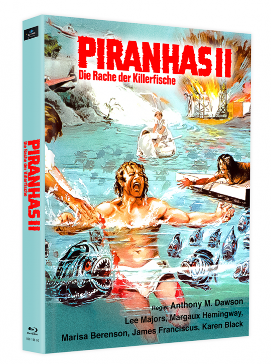 Killerfish (Piranhas 2) - Mediabook - Cover H [Blu-ray]