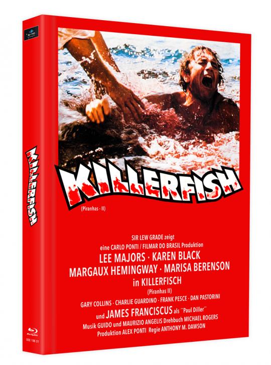 Killerfish (Piranhas 2) - Mediabook - Cover I [Blu-ray]