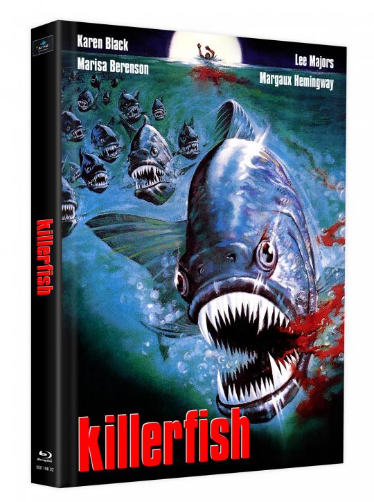 Killerfish (Piranhas 2) - Mediabook - Cover J [Blu-ray]