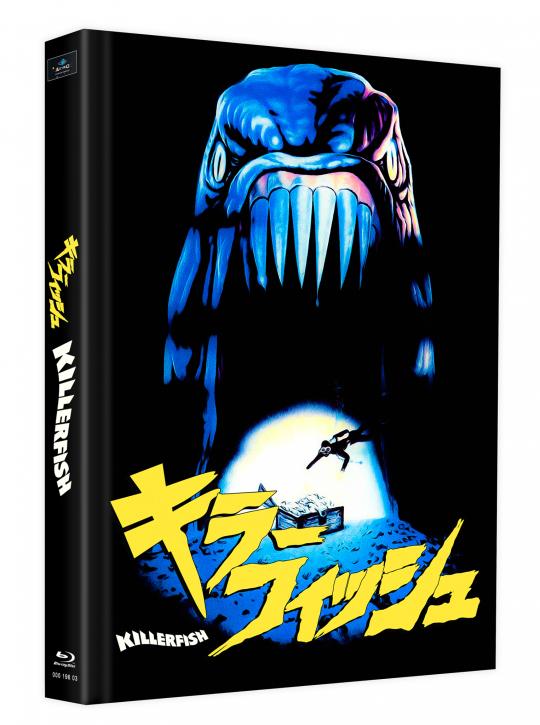 Killerfish (Piranhas 2) - Mediabook - Cover K [Blu-ray]