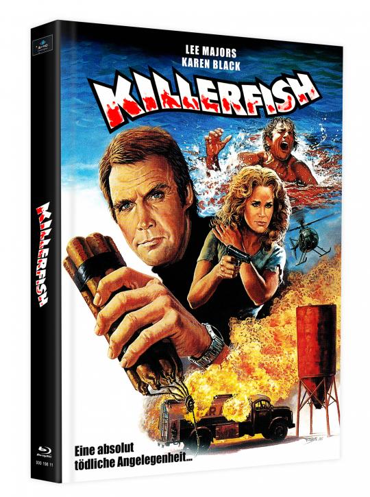 Killerfish (Piranhas 2) - Mediabook - Cover L [Blu-ray]