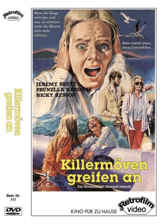 Killermöven greifen an - Terror auf der Teufelsinsel - große  Hartbox [DVD]