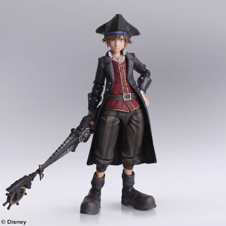 Kingdom Hearts III - Bring Arts Actionfigur - Sora Pirates of the Caribbean