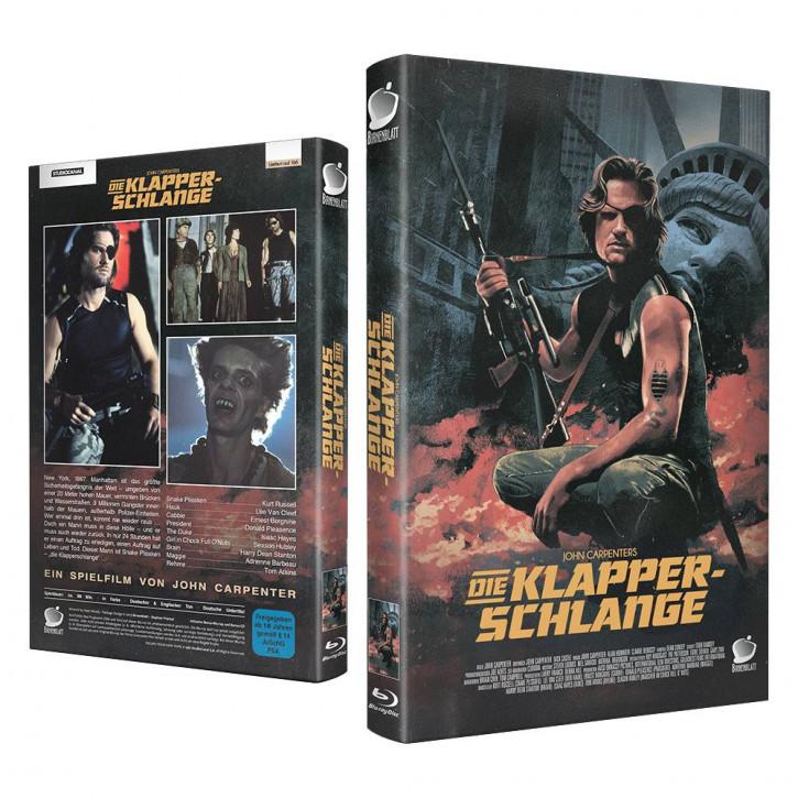 Die Klapperschlange - Große Hartbox - Cover A [Blu-ray]