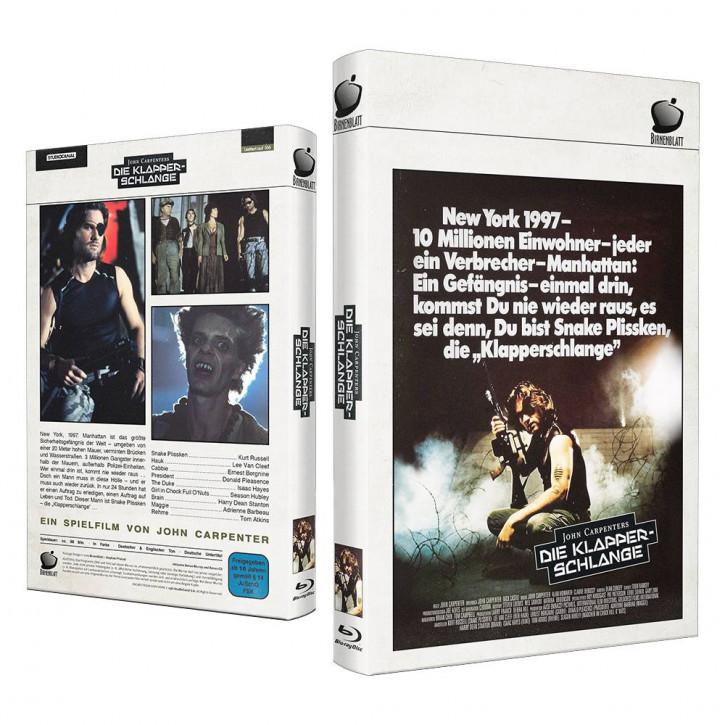 Die Klapperschlange - Große Hartbox - Cover B [Blu-ray]