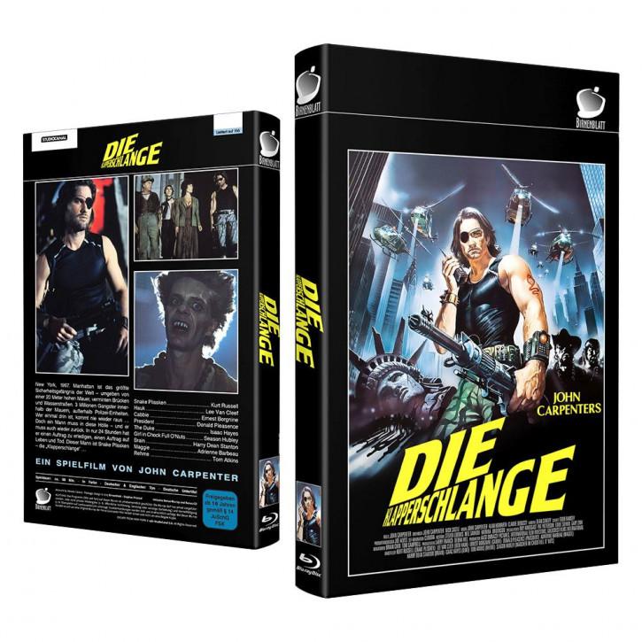 Die Klapperschlange - Große Hartbox - Cover C [Blu-ray]