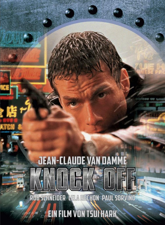 Knock Off - Limited Mediabook Edition - Cover B [Blu-ray+DVD]
