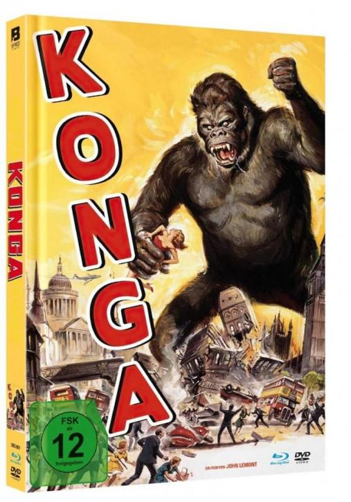Konga - Mediabook [Blu-ray+DVD]