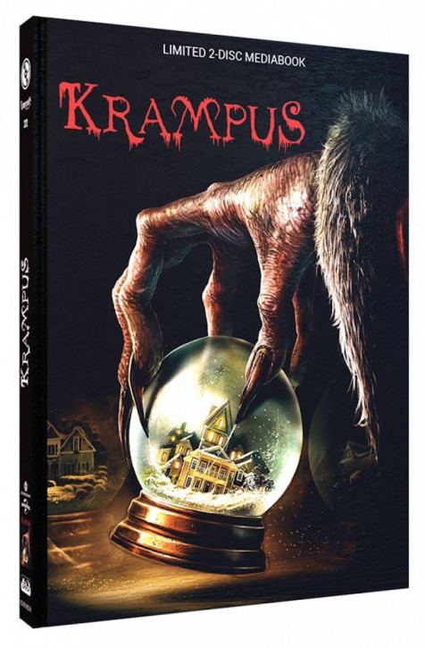 Krampus - Limited Mediabook Edition - Cover A [Blu-ray+DVD]