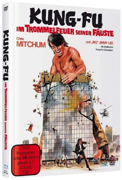 Kung Fu - Im Trommelfeuer seiner Fäuste - Mediabook [Blu-ray+DVD]