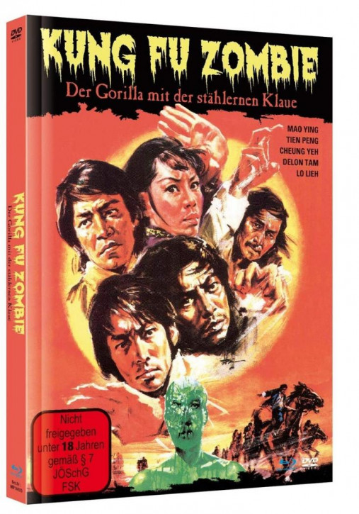 Kung Fu Zombie - Der Gorilla mit der stählernen Klaue - Mediabook [Blu-ray+DVD]