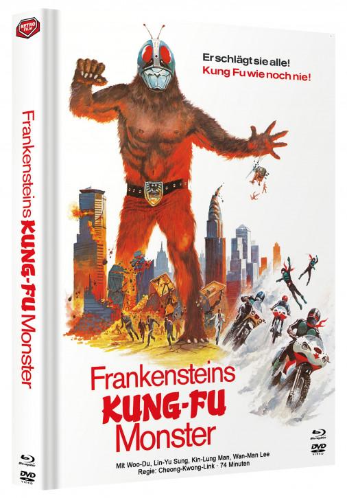 Frankensteins Kung Fu Monster - Mediabook - Cover A [Blu-ray+DVD]