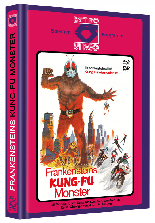 Frankensteins Kung Fu Monster - Mediabook - Cover C [Blu-ray+DVD]