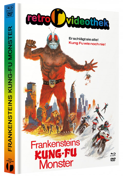 Frankensteins Kung Fu Monster - Mediabook - Cover D [Blu-ray+DVD]