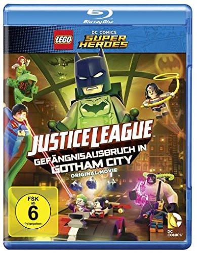 LEGO DC Super Heroes - Gefängnisausbruch aus Gotham [Blu-ray]