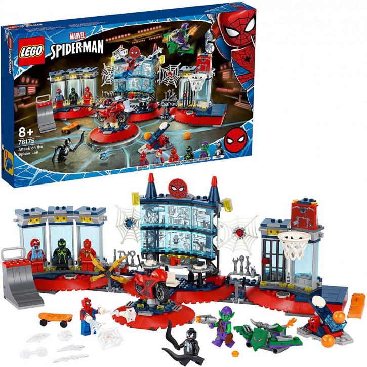 LEGO 76175 Marvel - Angriff auf Spider-Mans Versteck