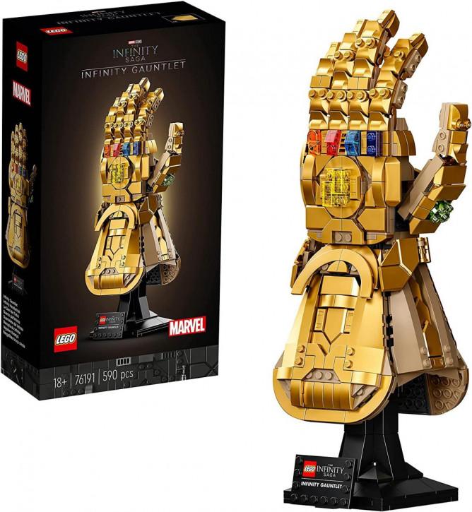 LEGO Marvel Super Heroes 76191 Infinity Handschuh
