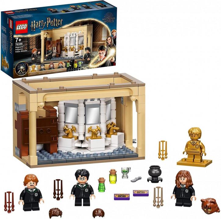 LEGO Harry Potter 76386 Misslungener Vielsaft-Trank Set