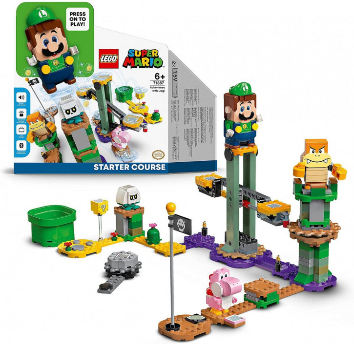 LEGO Super Mario 71387 - Abenteuer mit Luigi -Starterset