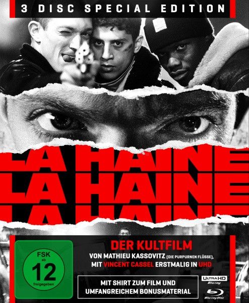 La Haine - Hass - Special Edition [4K UHD+Blu-ray]