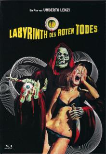 Labyrinth des roten Todes - kleine Hartbox [Blu-ray]