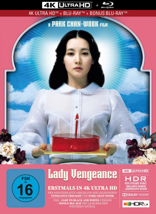 Lady Vengeance - Limited Mediabook Edition [4K UHD+Blu-ray]