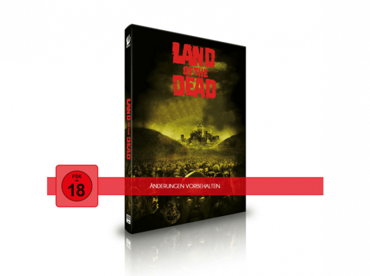 Land of the Dead - Limited Mediabook Edition - Cover C [Blu-ray+CD]