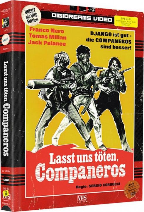 Lasst uns töten Companeros - Limited Mediabook VHS Edition [Blu-ray+DVD]
