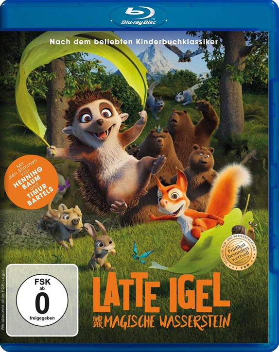 Latte Igel und der magische Wasserstein [Blu-ray]
