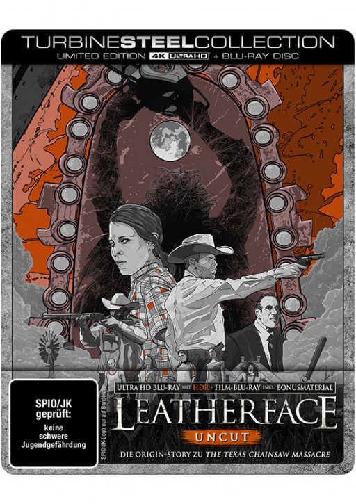 Leatherface - Limited Steelbook [4K UHD+Blu-ray]