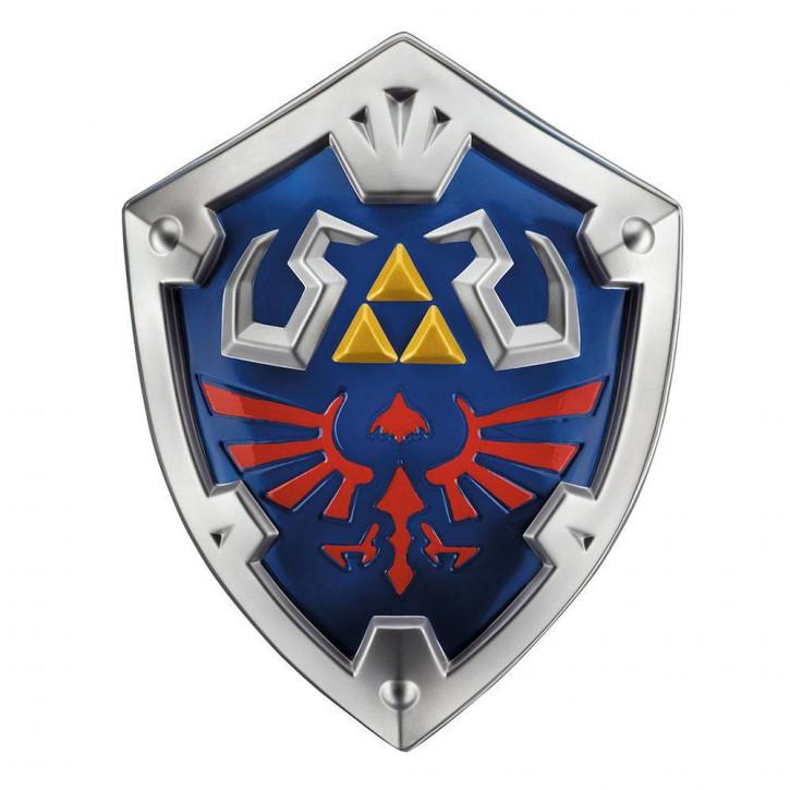 Legend of Zelda - Skyward Sword Kunststoff-Replik - Link´s Hylia Schild