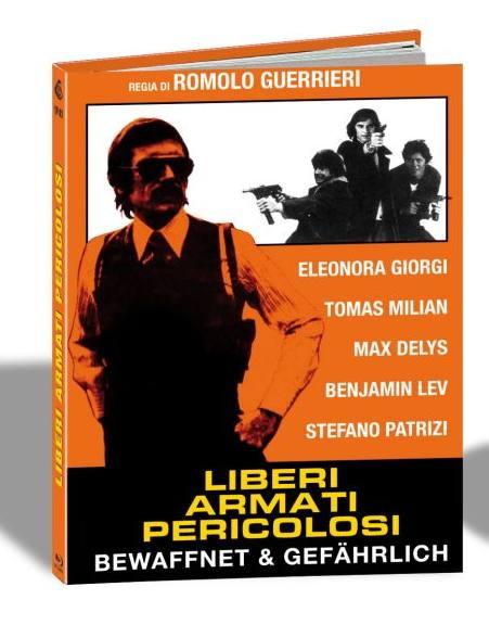 Bewaffnet & Gefährlich - Limited Mediabook Edition - Cover B [Blu-ray]
