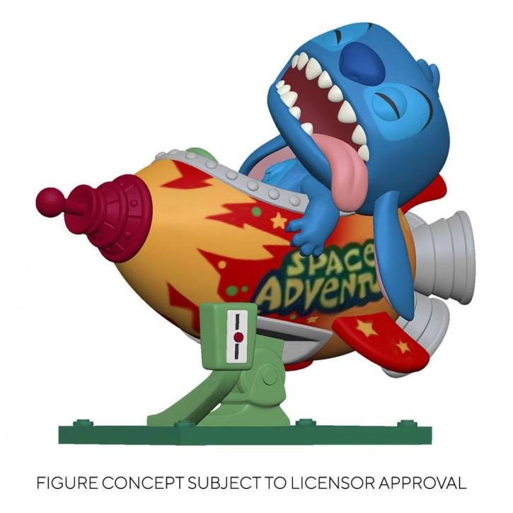 Lilo & Stitch POP! - Rides Vinyl Figur 102 - Stitch in Rocket