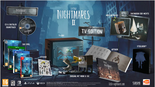Little Nightmares II TV Edition [PS4]