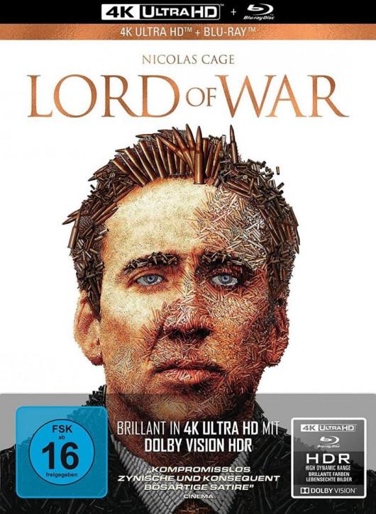 Lord of War - Händler des Todes - Limited Mediabook Edition [4K UHD+Blu-ray]