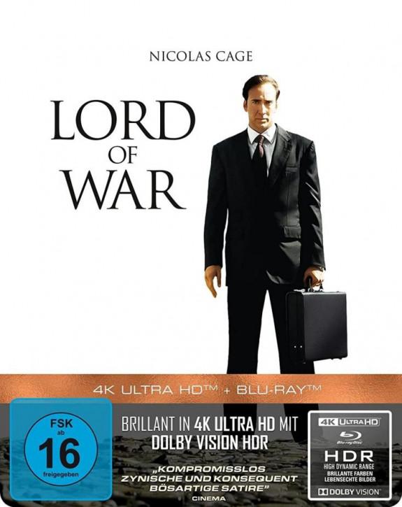 Lord of War - Händler des Todes - Steelbook [4K UHD+Blu-ray]
