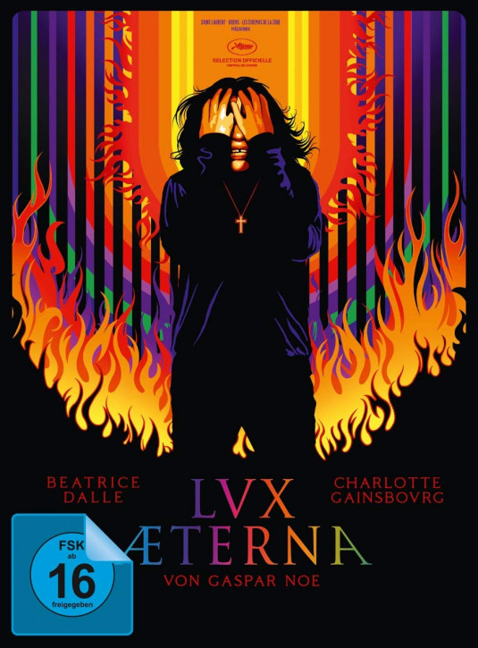 Lux Æterna - Limited Mediabook Edition - Cover B [Blu-ray+DVD]