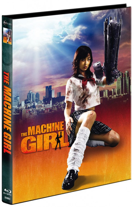 The Machine Girl - Limited Mediabook Edition - Cover A [Blu-ray+DVD]