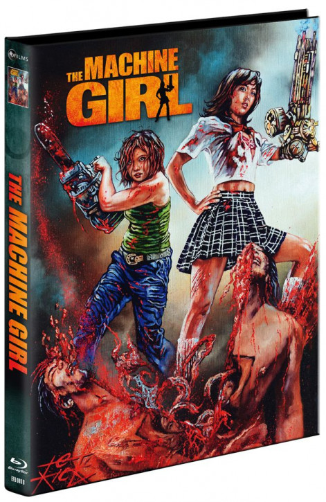 The Machine Girl - Limited Mediabook Edition - Cover B [Blu-ray+DVD]